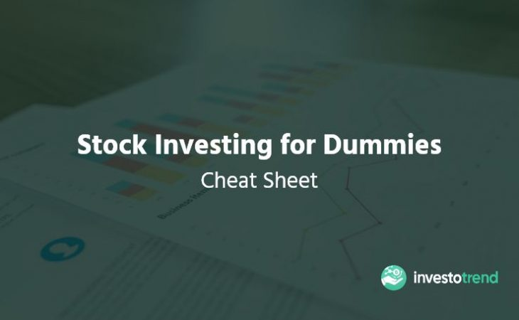 Stock Investing for Dummies Cheat Sheet