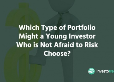 which type of portfolio might a young investor who is not afraid of risk choose?