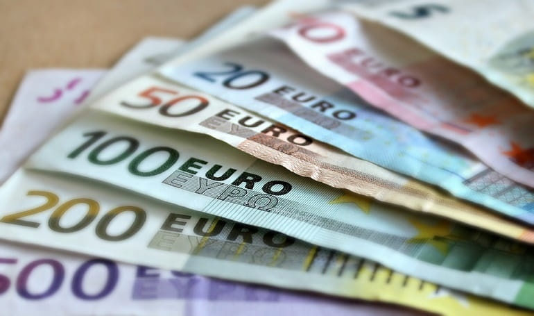 Euro Shares Went Up Following Upbeat Chinese Economic Data