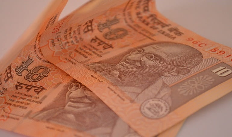 Rupee Gained Against the Dollar Over Strong Foreign Inflows