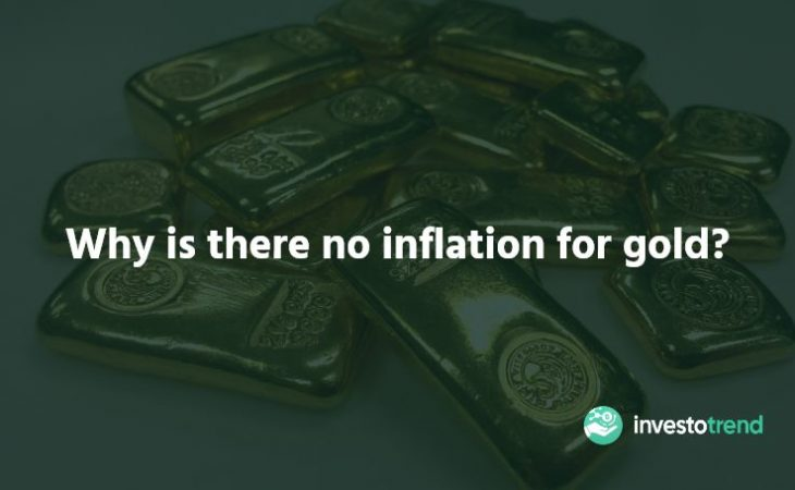 Why is there no inflation for gold