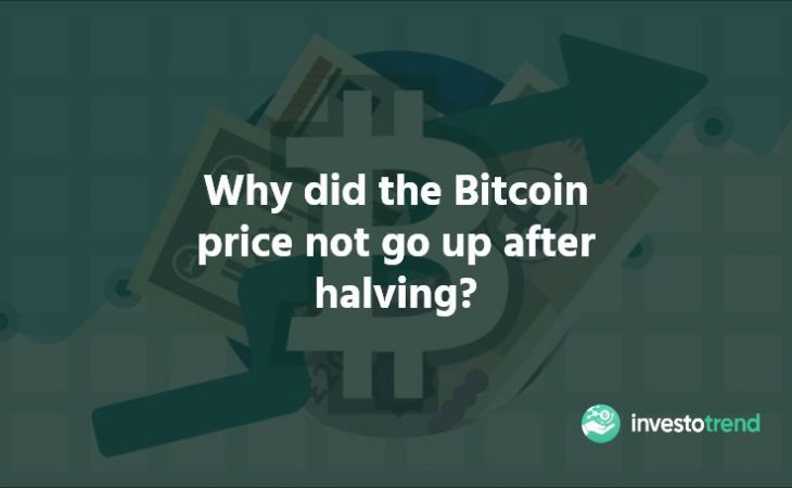 Why Did The Bitcoin Price Not Go Up After Halving
