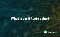 What gives Bitcoin value