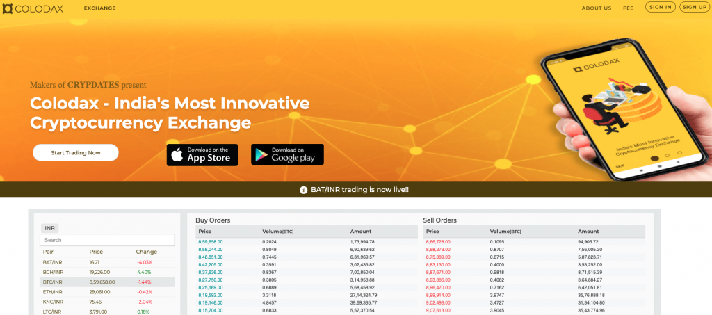 Best Exchanges for Cryptocurrency in India - InvestoTrend