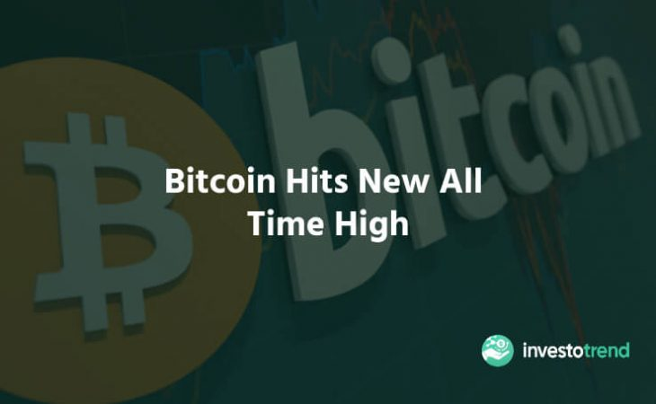 Bitcoin Hits New All Time High