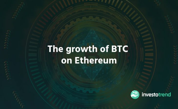 The growth of BTC on Ethereum