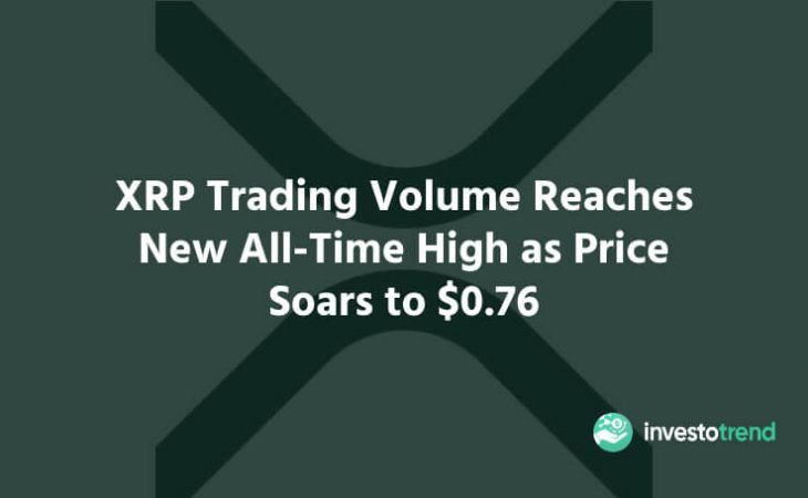 XRP Trading Volume Reaches New All-Time High