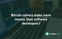 Bitcoin Miners Make More Money Than Software Developers