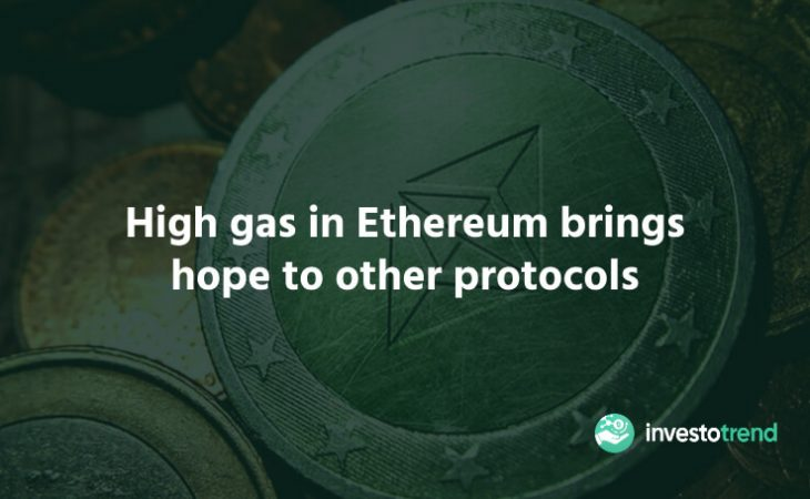 High gas in Ethereum brings hope to other protocols