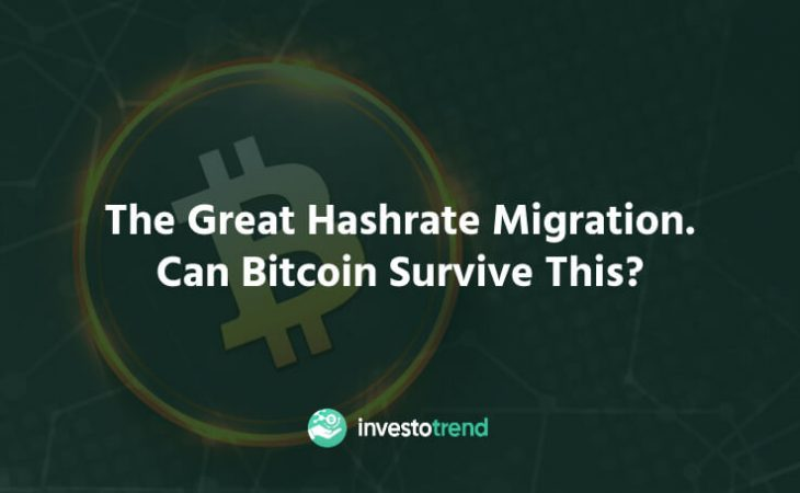 The great hashrate migration. Can Bitcoin survive this